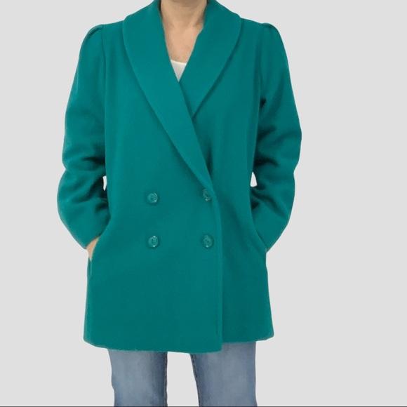 Superb khaki Kensie Vintage Medium wool coat jacket
